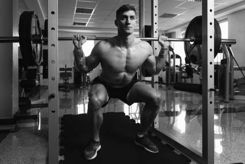 Le squat pour muscler les cuisses