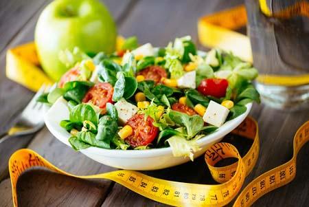 L'alimentation pour la perte de poids