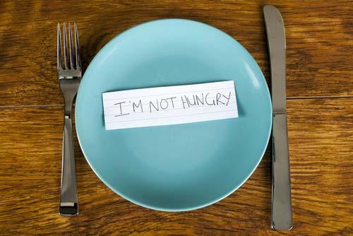 Que faire quand on a pas d'appétit