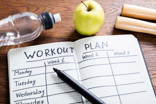 Programme d'entraînement pour progresser