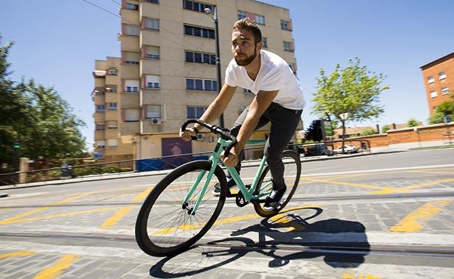 Un vélo Fixie