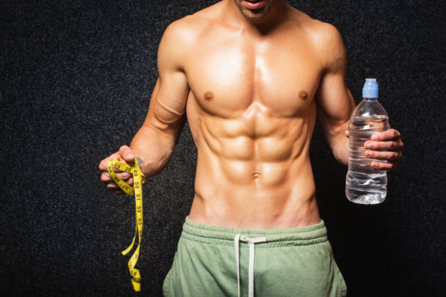La perte de poids chez les hommes